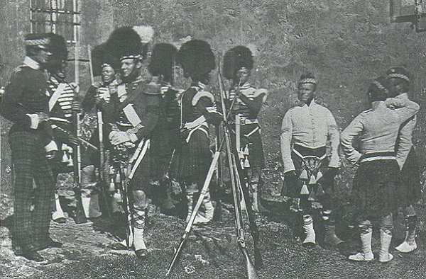 The 93rd Highlanders in the Crimea