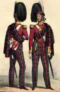 Officers of the Duke of Albany's Own Highlanders
