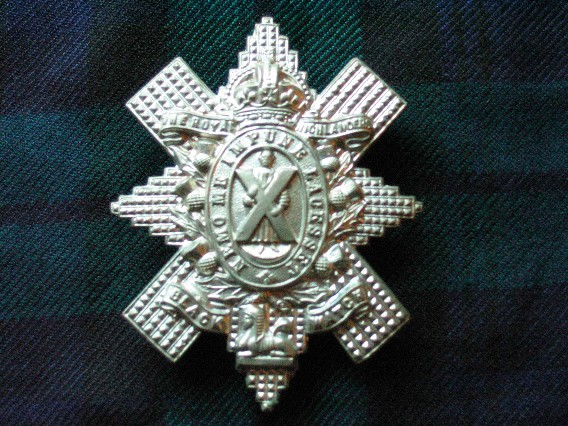 Black Watch badge