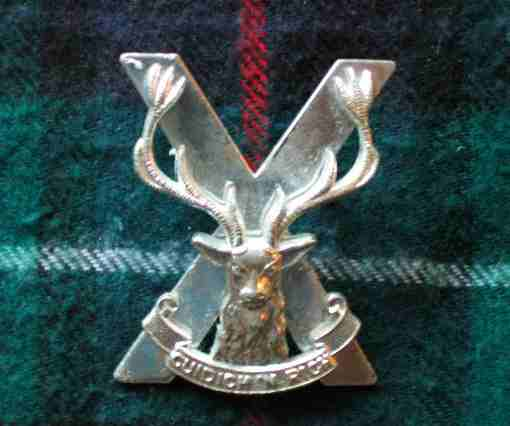 Crucified Moose badge