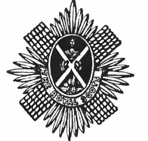 Royal Scots badge