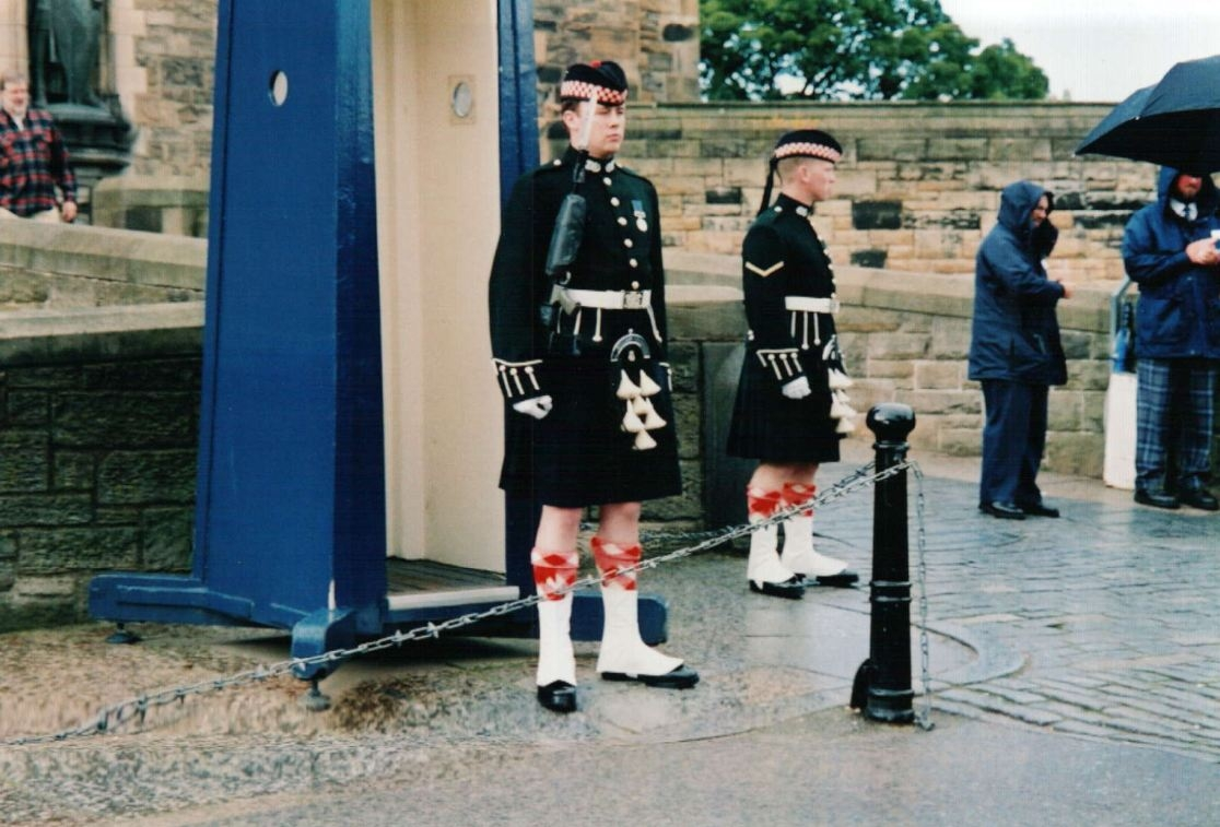 Argyll and Sutherland Highlanders at Edinburgh Castle